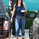 Courteney Cox Preps For Her Hair-Raising 47th Birthday With a Salon Stop