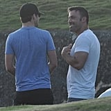 Ben Affleck and Justin Timberlake shot Runner, Runner.