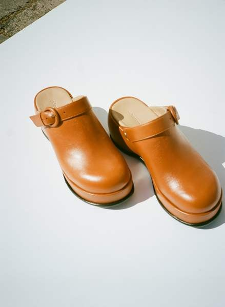 Paloma Wool Odessa Clog in Natural Leather