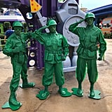 Hang out with the Green Army Men.