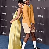 Yara Shahidi and Tyler, the Creator at the 2019 LACMA Art+Film Gala