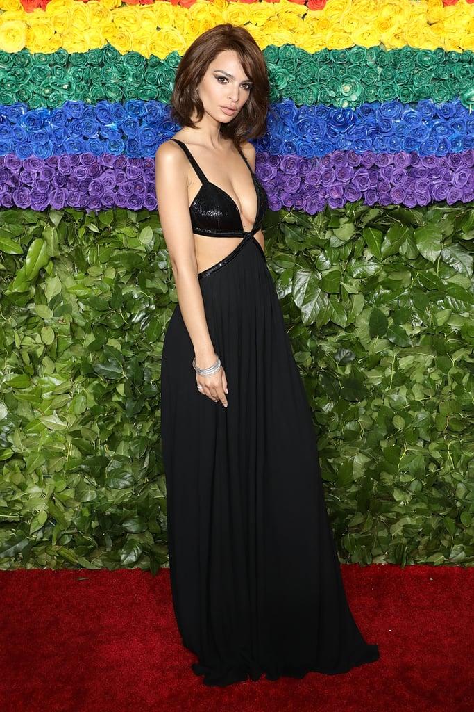 Emily Ratajkowski Bob Haircut at Tony Awards 2019