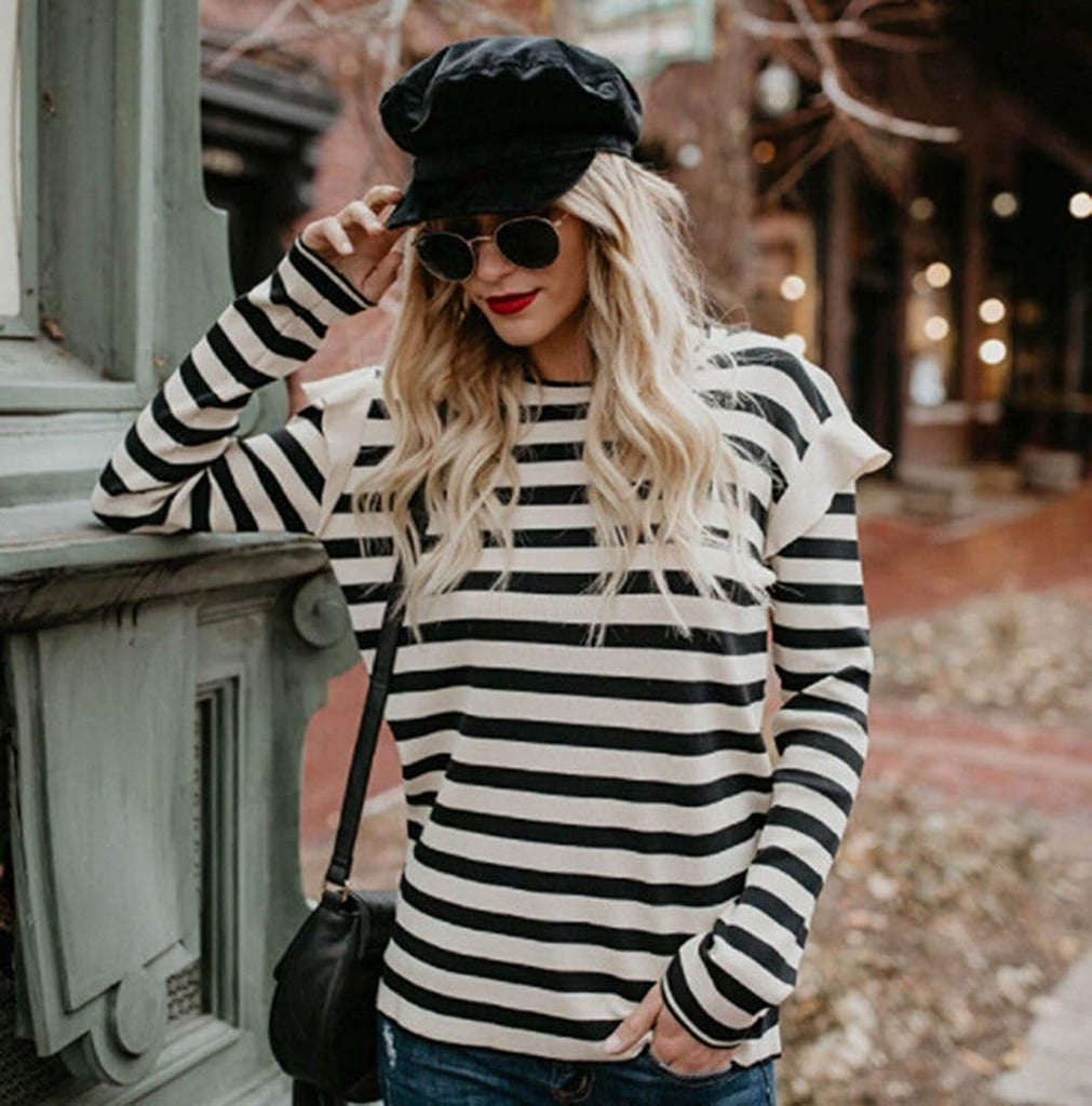 US Greatgorgeous Striped Top