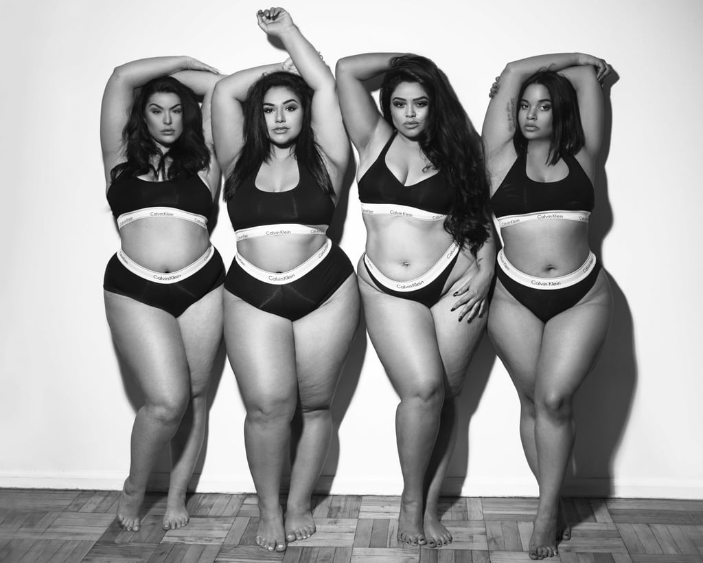 These Curve Models Re-Created the Kardashian Calvin Klein Ads in Their Own Beautiful Style