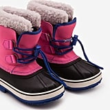 Mini Boden Pop Pink Snow Boots