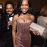 Pictured: Regina King and Ian Alexander Jr.