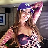 Sofia Vergara showed her team spirit. Source: Eric Stonestreet on WhoSay