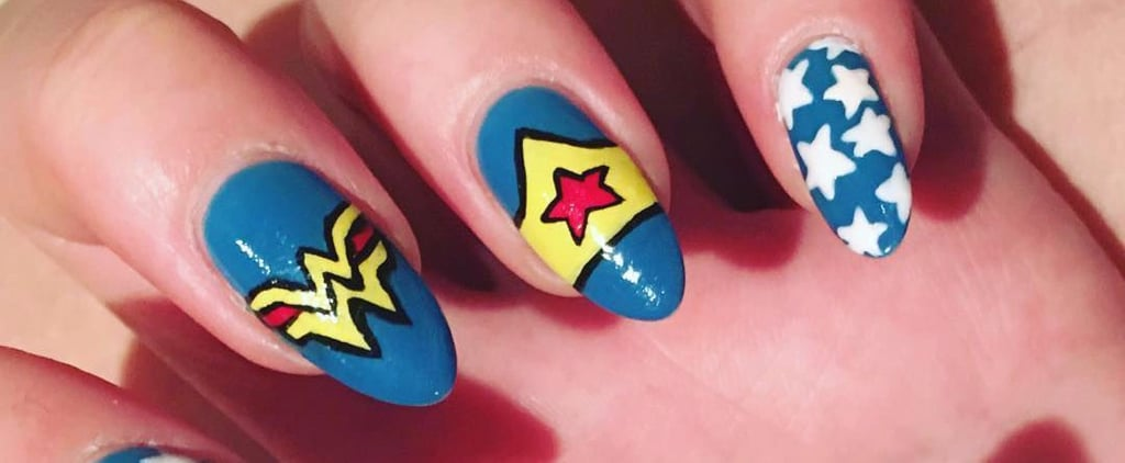 These Wonder Woman Manicures Will Inspire You to Kick Ass Every Day
