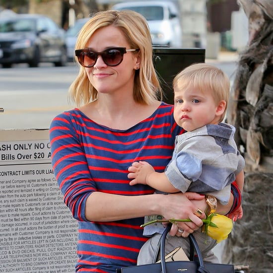 Reese Witherspoon With Tennessee Toth in LA