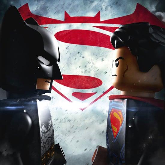 Batman v Superman Legos
