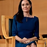 March: Angelina Delivered an Impassioned Speech at Geneva's UN Office