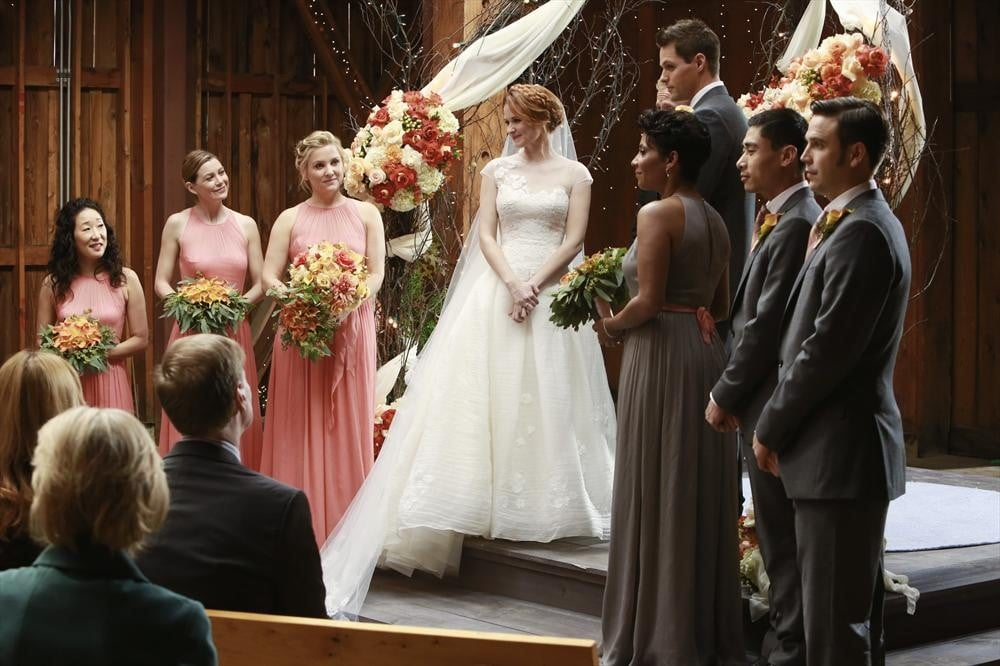 Grey\'s Anatomy | TV and Movie Weddings 2013 | POPSUGAR Entertainment ...
