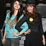Selena Gomez and Demi Lovato at Chevy Rocks the Future in 2008