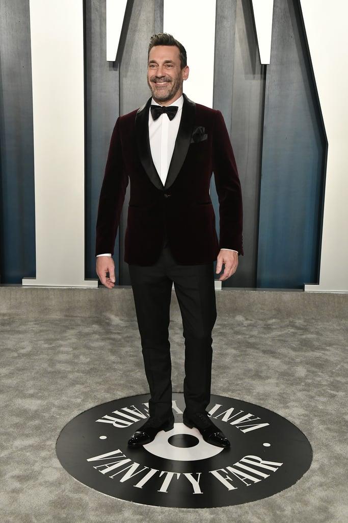Jon Hamm at the Vanity Fair Oscars Afterparty 2020