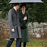 """William: """"This umbrella is bigger than our castle."""""""