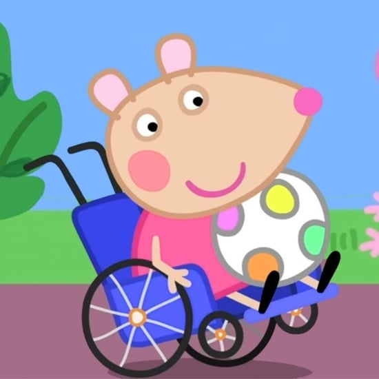 Mandy Mouse Character Who Uses a Wheelchair on Peppa Pig