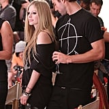 Brody Jenner supports girlfriend Avril Lavigne.