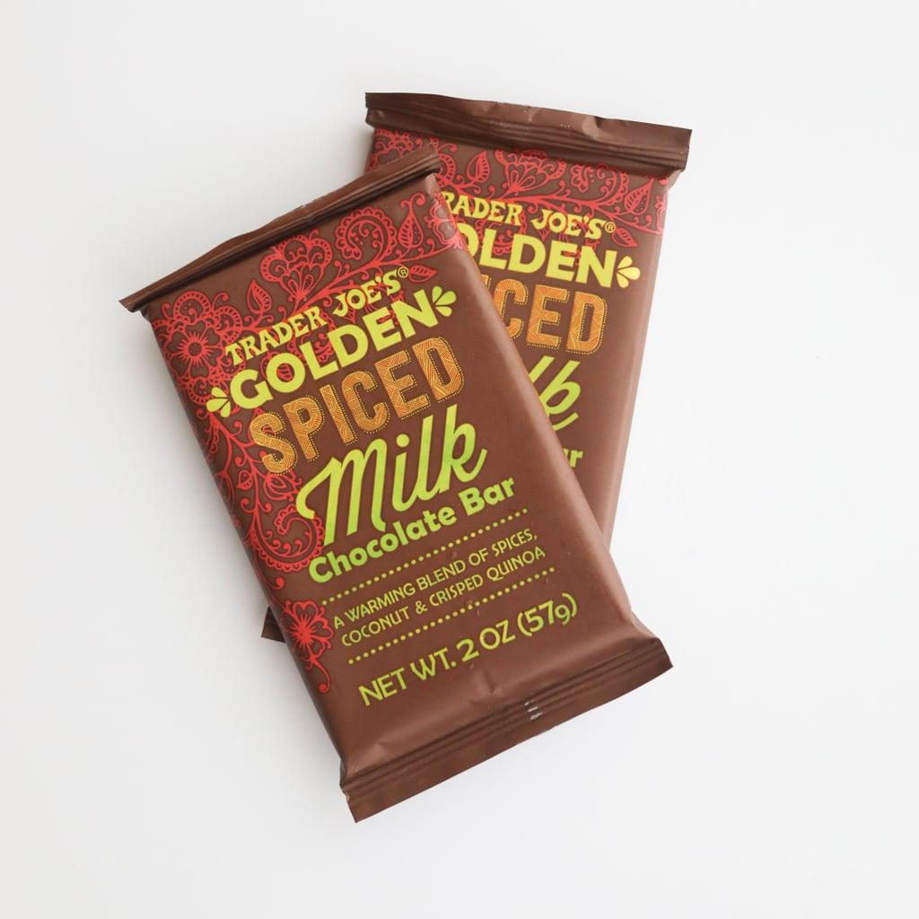 Golden Spiced Milk Chocolate Bar ($1)