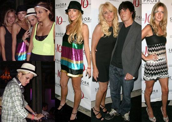 Photos of Lindsay Lohan and Samantha Ronson at Sephora 10th Anniversary