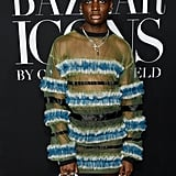 Rickey Thompson at the Harper's Bazaar ICONS Party