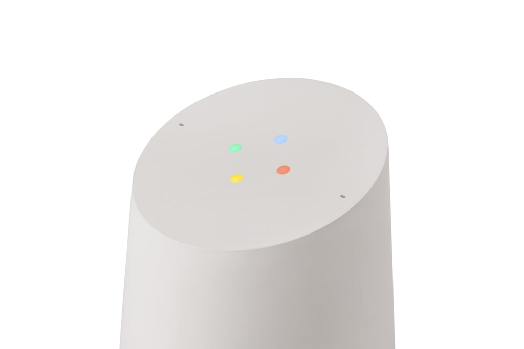 Here's the Google Home in action.