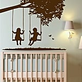 A duo of swinging tots ($69-$349) adds a touch of sweetness to your babe's nursery.