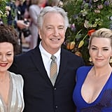 With Helen McCrory and Alan Rickman