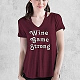Francesca's Wine Game Graphic Tee