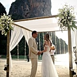 Donna and Matthew's destination wedding took place at Railay Bay Resort & Spa in Krabi, Thailand. See the wedding here!