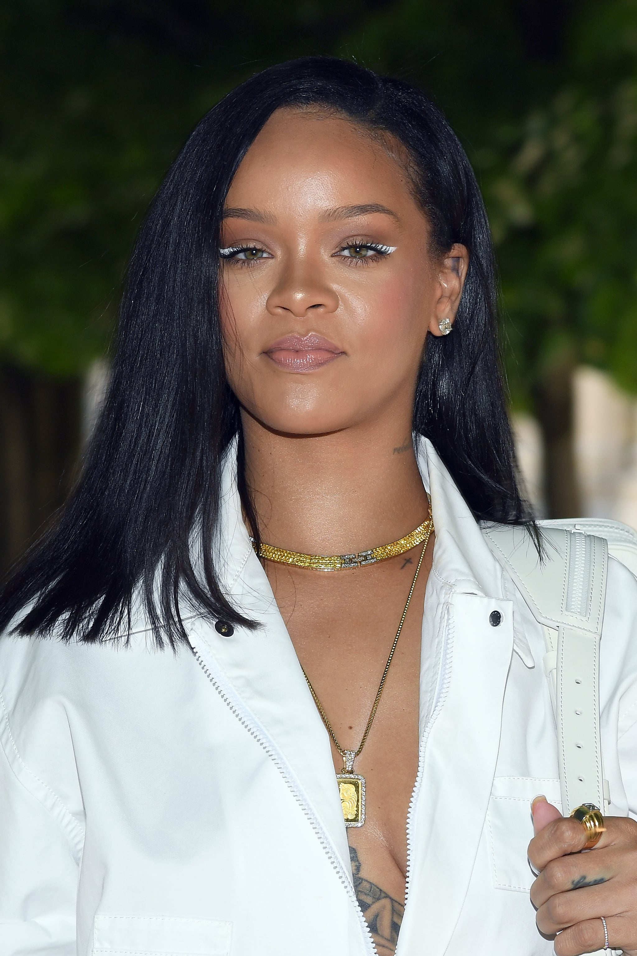 PARIS, FRANCE - JUNE 21:  Rihanna attends the Louis Vuitton Menswear Spring/Summer 2019 show as part of Paris Fashion Week on June 21, 2018 in Paris, France.  (Photo by Pascal Le Segretain/Getty Images)