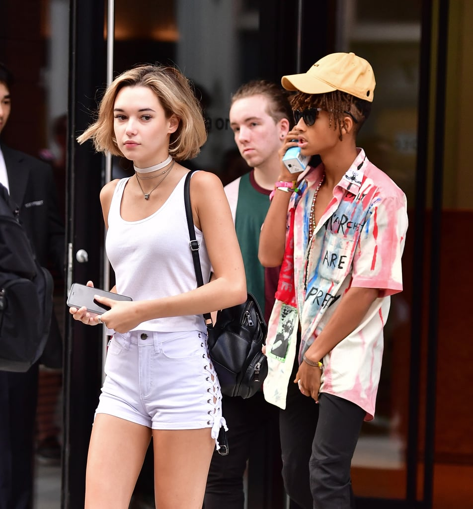 Jaden smith showing his abs in nyc july 2016 popsugar celebrity jaden smith practically goes shirtless while running errands with his girlfriend in nyc ccuart Choice Image