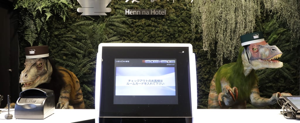 Robotic Dinosaurs Will Check You in at This Japanese Hotel — Does It Get Weirder Than That?