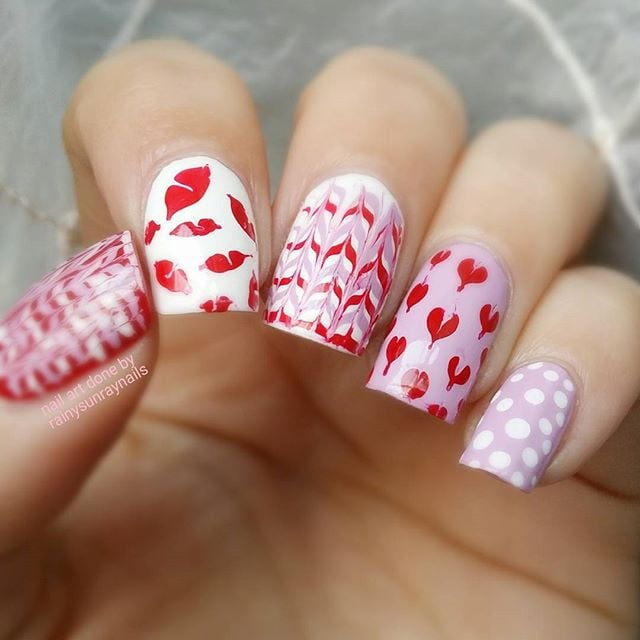 Best Valentine's Day Nail Art of Instagram