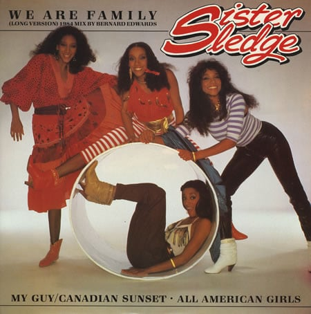 """We Are Family"" by Sister Sledge"