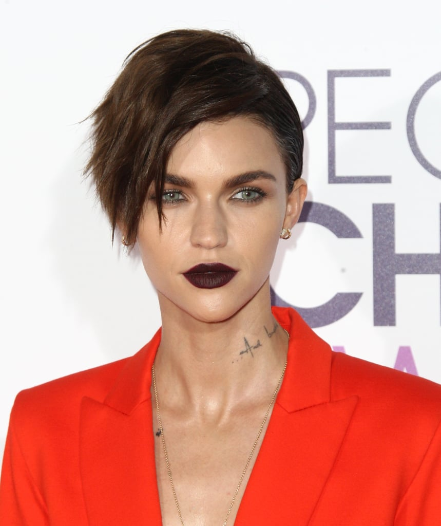 Ruby Rose at the People's Choice Awards