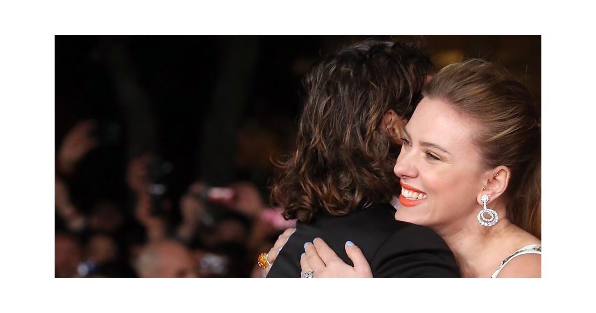 Scarlett Johansson at Her Premiere in Rome