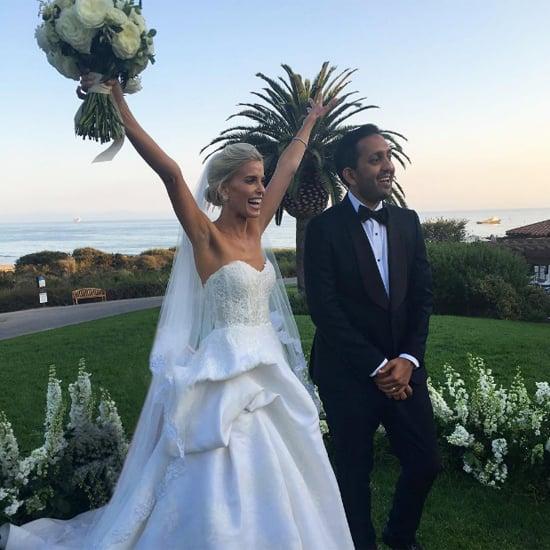 Braut trägt 9 verschiedene Hochzeitslooks
