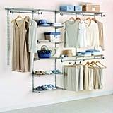 Rubbermaid Custom Closet Organizer System Kit