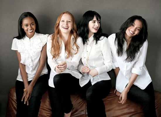 Banana Republic's Fall 2009 Ad Campaign Stars Hollywood Actors