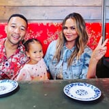 Chrissy Teigen s Daughter Just Turned 3 and Can Paint Nails Better Than You