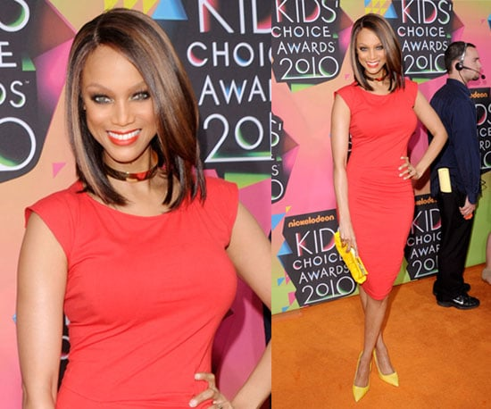 Tyra Banks at 2010 Kids Choice Awards 2010-03-27 18:05:37