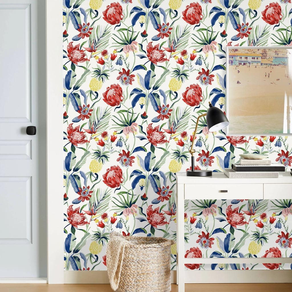 tropical home decor australia tropical floral wall paper peel best spring home decor from  tropical floral wall paper peel best