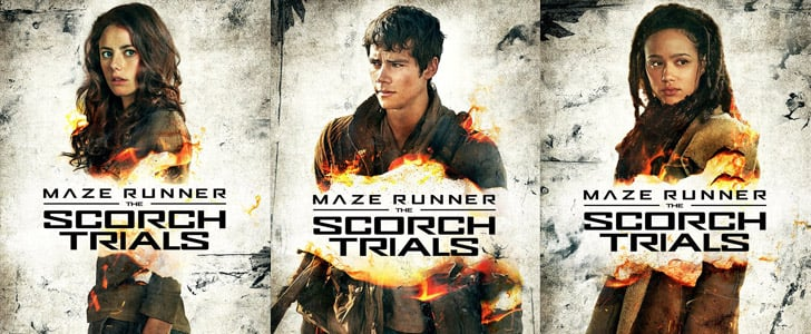 Maze Runner: The Scorch Trials Posters