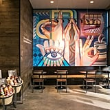 Customers Are Greeted by a Custom Mural That Celebrates Deaf Culture