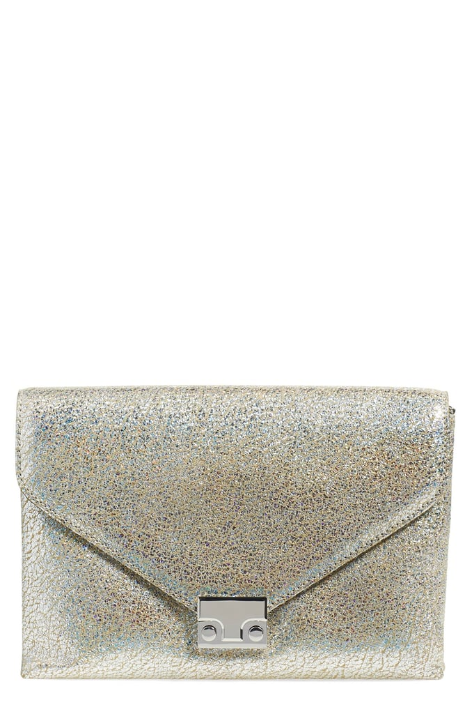 VIDA Leather Statement Clutch - FOX by VIDA qMuQX3NZ