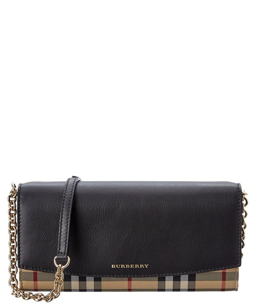 Burberry Leather Wallet on a Chain
