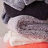 Amped Fleece Cozy Throw Blanket