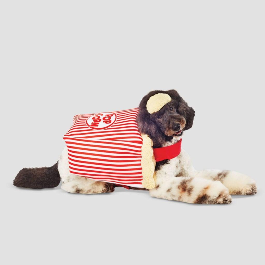 Popcorn Halloween Dog Costume
