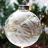 Witchcraft and Wizardry Christmas Ornament