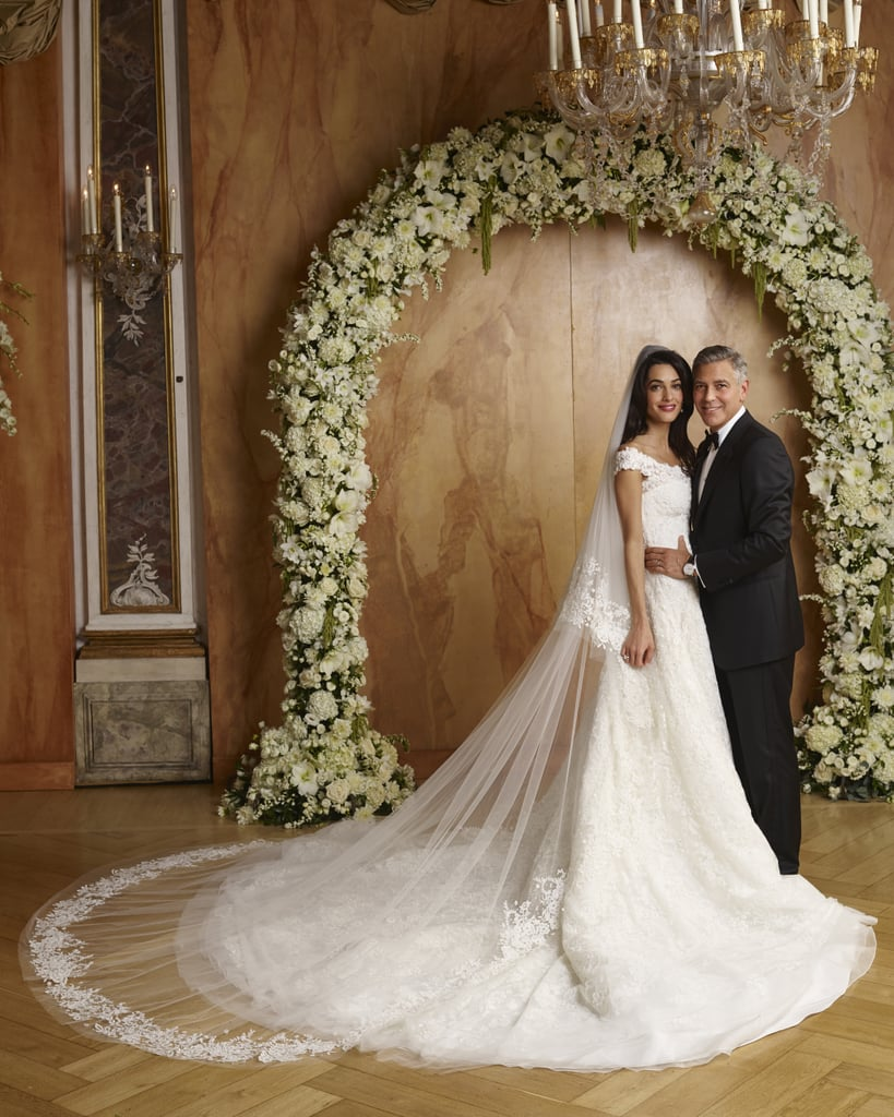 Amal Clooney\'s Wedding Dress on Display | POPSUGAR Fashion Photo 5